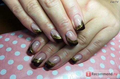 Гель для наращивания ногтей Royal SHINE FINISH Финишный с липким слоем фото