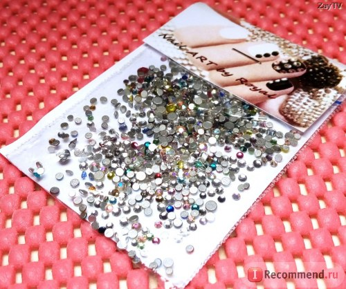 Стразы для ногтей Royal бариевый хрусталь фото
