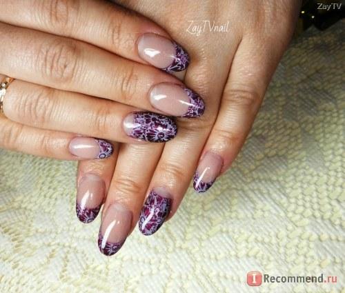 Гель для наращивания ногтей Royal COVER NATURALE DIAMOND камуфляж нежно-бежевый c микроблеском фото