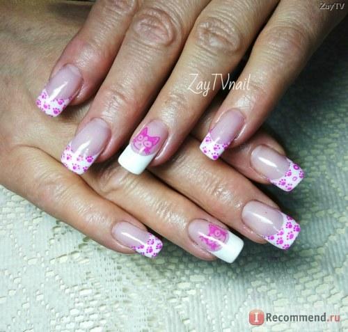Гель для наращивания ногтей Royal COVER PINK камуфляж нежно-розовый фото